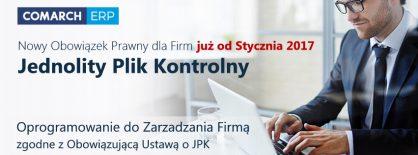 Systemy Comarch gotowe na JPK