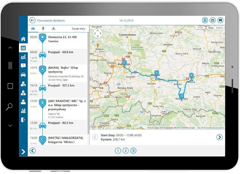 Comarch Mobile Zarządzanie - Planowanie działania