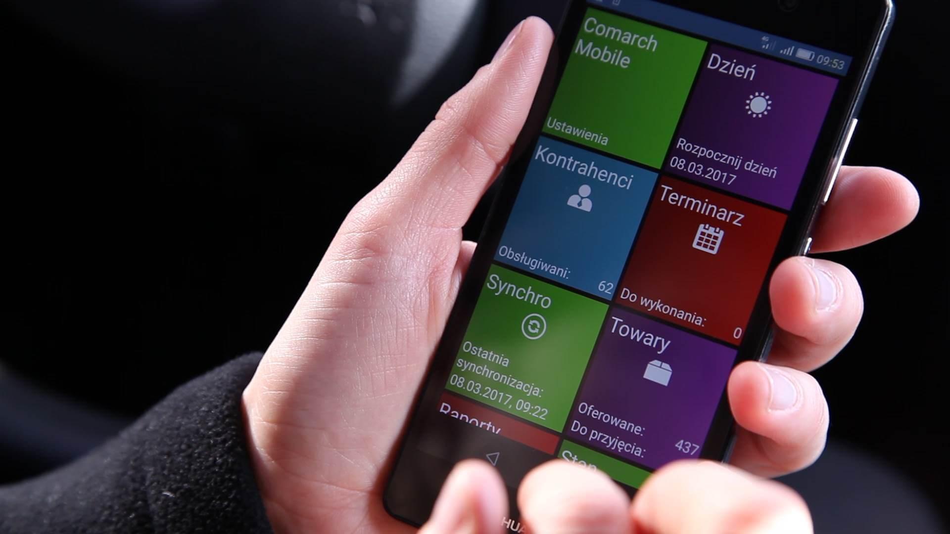 Sprzedaż mobilna w Comarch ERP XL