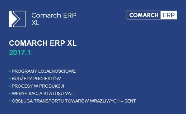 Comarch ERP XL 2017.1