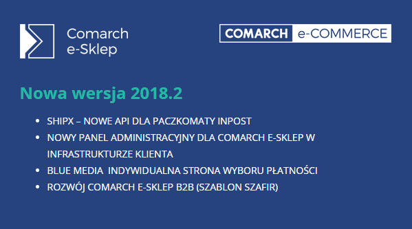 comarch e-sklep 2018.2