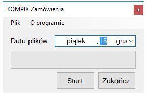Kompix Zamówienia do Comarch ERP XL