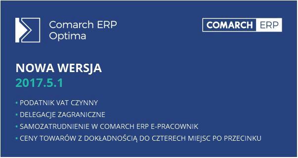 Comarch ERP Optima 2017.5.1