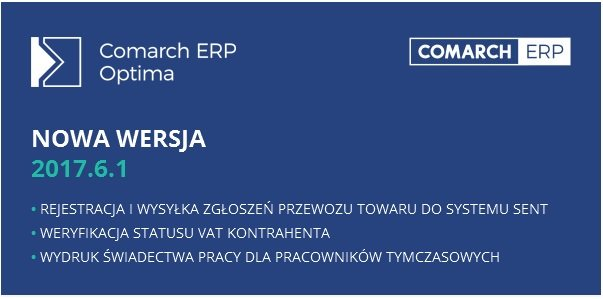 Comarch ERP Optima 2017.6.1