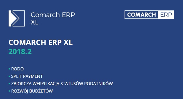 Comarch ERP XL 2018.2