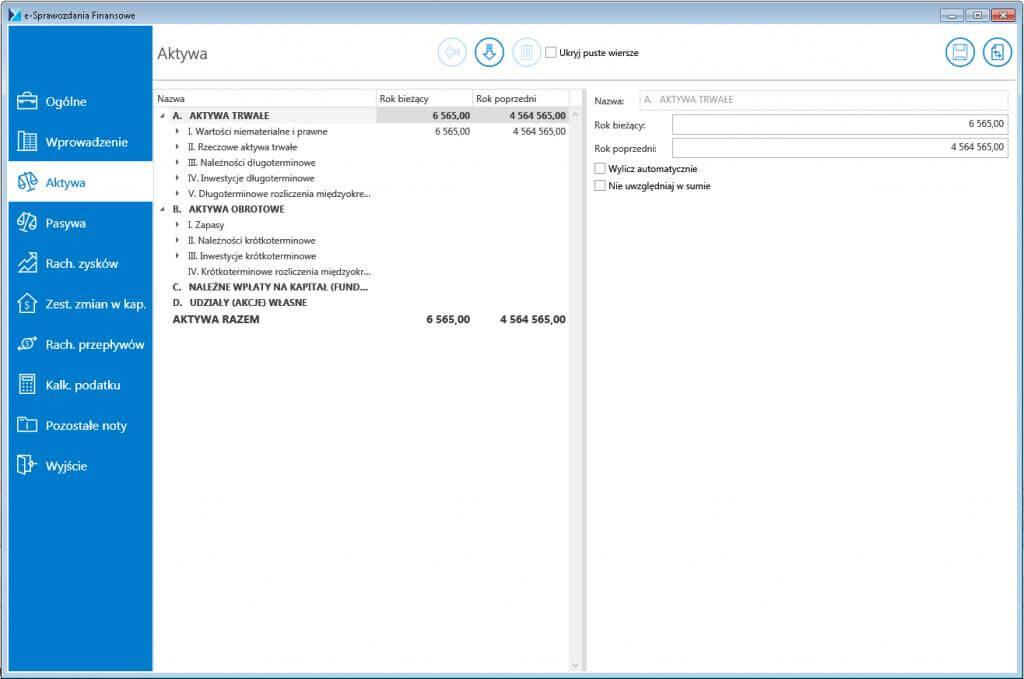 Comarch e-Sprawozdania Finansowe